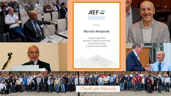 Thank you Marcello Mongiardo