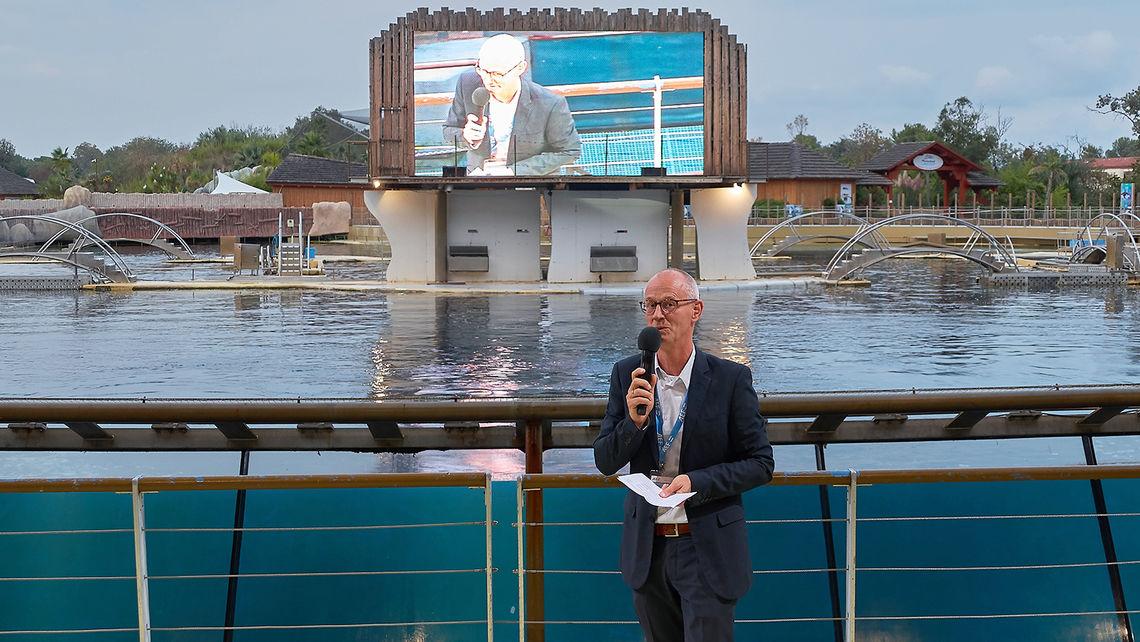 AEF Chairman Peter van der Vlugt