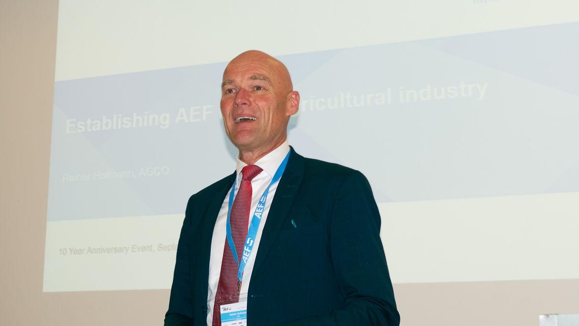 Rainer Hofmann, Agco