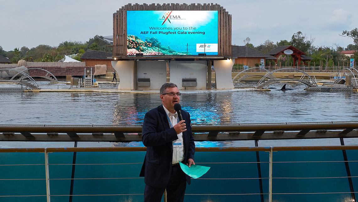 AXEMA Vice-President Philippe Girard