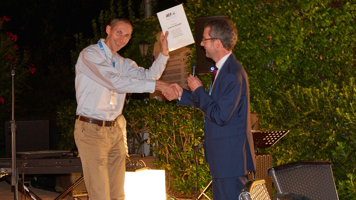 Thanks to Jaap van Bergeijk, who is leaving the role as Team Leader for Conformance Testing after 10 years